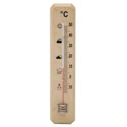 Termometro oryx madera 20cm