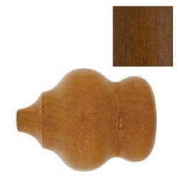 Terminal madera marbella 28x70mm nogal