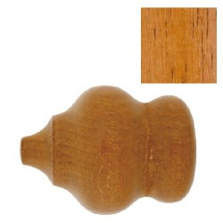 Terminal madera marbella 28x70mm teca